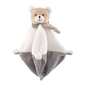 Chicco My Sweet Dou Dou Mantita Osito - Manta para bebés, tejido suave con forma de oso