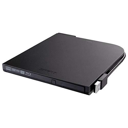 Buffalo MediaStation 6x Portable BDXL Blu-Ray Writer with M-DISC Support (BRXL-PT6U2VB),Black