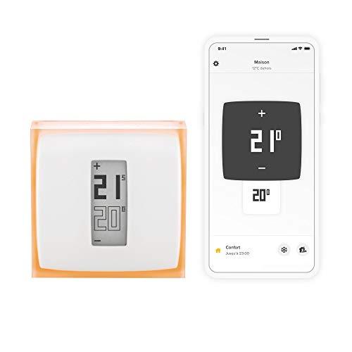 Netatmo Smart Thermostat for individual boiler, NTH01-EN-EC
