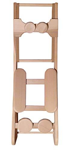 HaLu BV Sauna-Rückenlehne ergonomisch mit Kopfstütze, Red Cedar naturbelassen