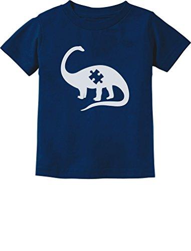 Puzzle Dinosaur Autism Awareness Toddler Infant Kids T-Shirt...