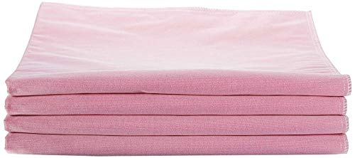 Medline Softnit 300 Washable Underpads, Pack of 4 Large Bed Pads, 34' x 36', For use as incontinence bed pads, reusable pet pads, great for dogs, cats, and bunny