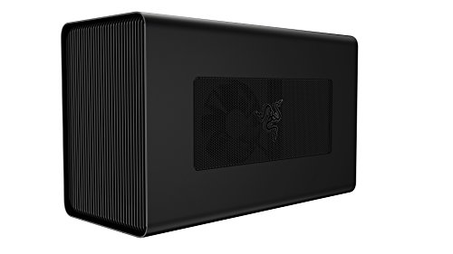 Razer Core X Aluminum External GPU Enclosure (eGPU): Compatible w/Windows & Mac Thunderbolt 3 Laptops - NVIDIA/AMD PCIe Support - 650W PSU