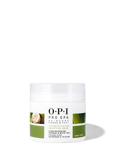 OPI Pro Spa Intensive Callus Smoothing Balm, 4 Fl Oz