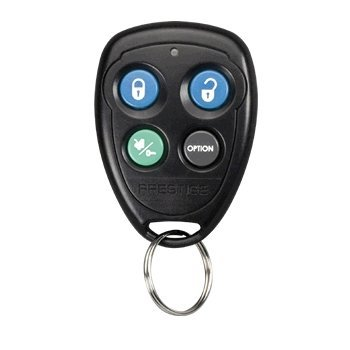 Prestige Audiovox 91P (FCC ID: H50T43) Keyless Entry/Alarm/Remote Start Remote + Programming Instructions