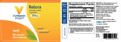 The Vitamin Shoppe Relora 250MG, Clinically Studied Ingredient, Supports Mood Relaxation (90 Capsules) 2 - My Weight Loss Today