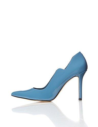 find. Salones con Corte Perfilado para Mujer, Azul (Blue), 38 EU