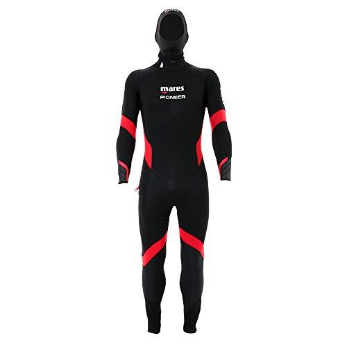 Mares Herren Pioneer 5mm Wetsuit, Black, S5