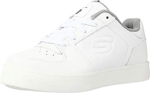 Skechers Energy Lights-Elate, Zapatillas Altas para Niños, Blanco (White), 33.5 EU