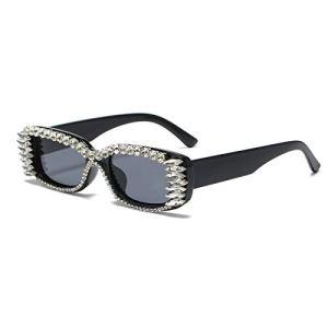Long Keeper Small Rectangle Sunglasses Women UV 400 Retro Square Driving Glasses