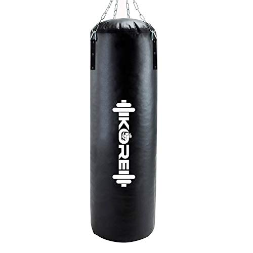 KORE Phantom 3 Feet Unfilled Heavy Black Punching Bag SRF Material Boxing MMA Sparring Punching...