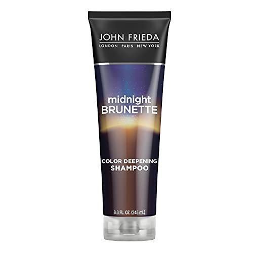 John Frieda Midnight Brunette Shampoo, Visibly...