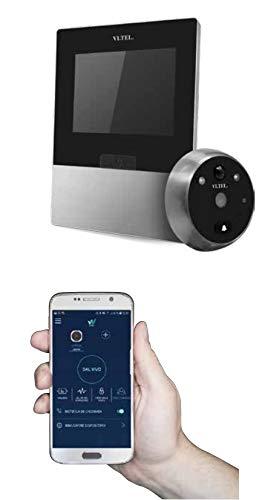 Mirilla digital Wi-Fi con sensor de movimiento - VI.TEL. E0595 - Color CROMOSAT