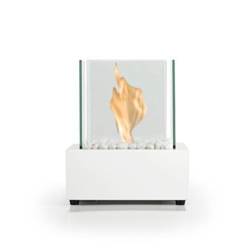 Bio Fires - Glass Cube II White Bio Ethanol Burner