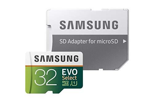 Samsung EVO Select - Tarjeta de Memoria microSDXC de 32 GB con...