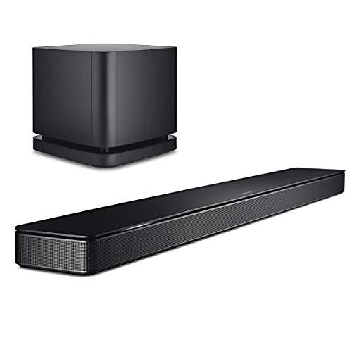 BOSE SOUNDBAR 500 ワイヤレスサウンドバー + サブウーファーセット Amazon Alexa搭載