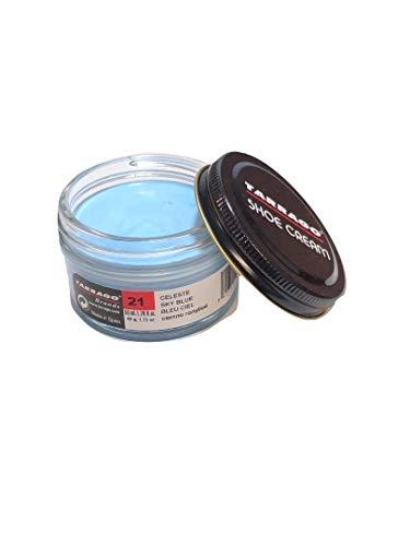 Tarrago Shoe Cream Jar 50ml. #21 Sky Blue