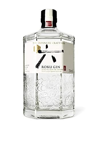 Roku, Gin Roku Artigianale Giapponese - bottiglia in vetro da 700ml