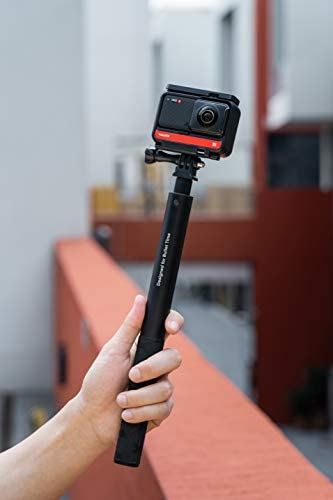 Insta360 ONE R Twin Edition All-in-One Bundle: Action Camera + Bullet Time Handle + Invisible Selfie Stick - Super 5.7K Dual Lens, 4K Wide Angle (SD Card Sold Separately), Authorized Dealer 17