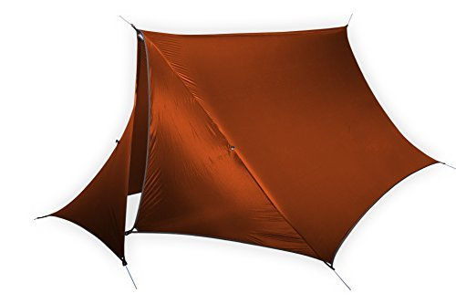 ENO - Eagles Nest Outfitters HouseFly Rain Tarp, Ultralight Camping Tarp, Amber