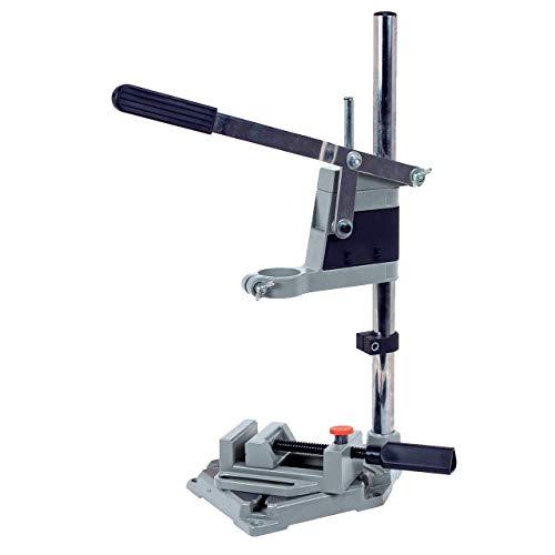 WALTER Bohrmaschinenständer, Bohrständer, Ständer für Bohrmaschine, aus Bohrmaschine wird Tischbohrmaschine, verstellbar, stabil, passend für viele Modelle