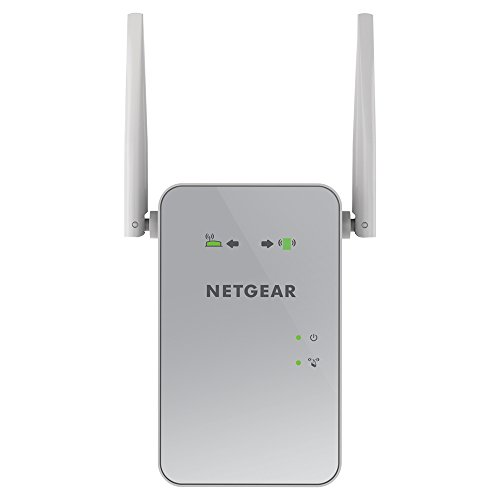 NETGEAR WiFi Mesh Range Extender EX6150 - Coverage up to 1200 sq. ft. and 20 Devices with AC1200 Dual Band Wireless Signal Booster & Repeater (up to 1200Mbps Speed), Plus Mesh Smart Roaming