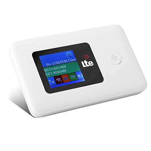 Bewinner Tragbares Mobile Wi-Fi für Reise, LR113D 10/100 / 1000Mbps 150Mbps 4G WLAN-Router Mobiler WLAN-Hotspot 4G LTE MiFi