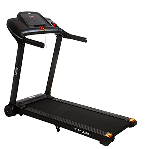 Fitkit FT98 carbon (2HP Peak) DC-Motorised Treadmill (Max Speed:14km/hr,Max Weight:90Kg) With Free home installation, Free Diet & Fitness & Personal Sessions from OneFitPlus Expert Coaches (view only)