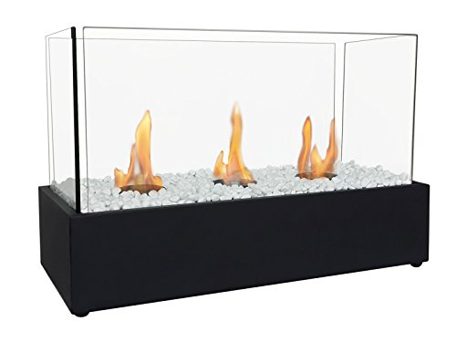 PURLINE NYMPHA PLUS Tabletop biochimney with triple burner