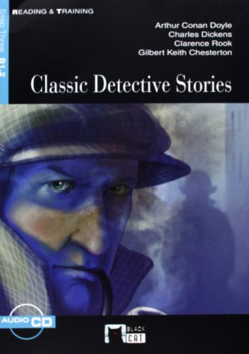 Classic Detective Stories+cd (b1.2 2010) (Black Cat. reading And Training)