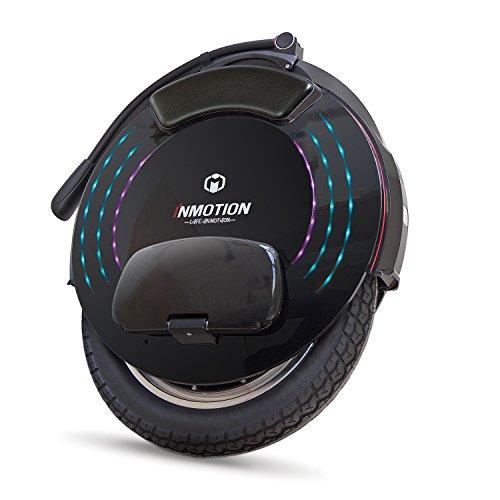InMotion V10F Monociclo eléctrico, Unisex-Adult, Negro, 52,85 x 62,35...