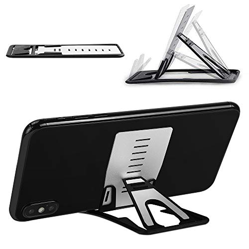 MACLE iPhone 11/Pro/Max スマホスタンド タブレットスタンド 携帯電話スタンド 卓上 薄型軽量 折りたたみ...