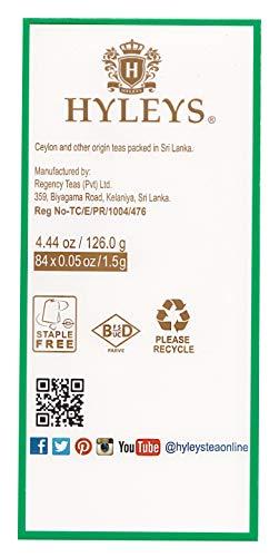 Hyleys Tea 28 Days Detox Kit - 84 Tea Bags - (100% Natural, Sugar Free, Gluten Free and Non-GMO) 6