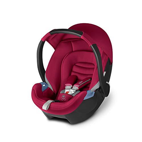 cbx Babyschale Aton, Gruppe 0+ (0-13kg), Ab Geburt bis ca. 18 Monate, Crunchy Red