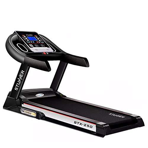 Stunner Fitness STX-250 2.0HP (4.0HP Peak) Motorized Treadmill with Auto Inclination & Auto...