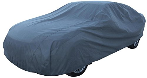 Leader Accessories Mid Grade Car Cover 100% Dustproof UV Ray Resistant Outdoor Use Sedan Cover Length Up to 264'