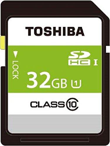 TOSHIBA SDHCカード 32GB Class10 UHS-I対応 (最大転送速度40MB/s) 5年保証 日本製 (国内正規品) SDAR40N32G