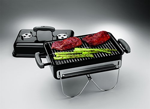 Product Image 5: Weber 121020 Go-Anywhere Charcoal Grill,Black,14.5