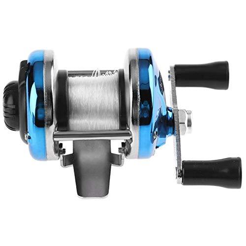 HDYXL-GSY 3.0: 1 Metal Bait Casting Spinning Mulinello da Pesca 90m / 295ft Boat Ice Fishing Wheel Mani Sinistra/Destra intercambiabili Maniglia