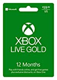 Microsoft Xbox LIVE 12 Month Gold Membership (Physical Card) (Video Game)