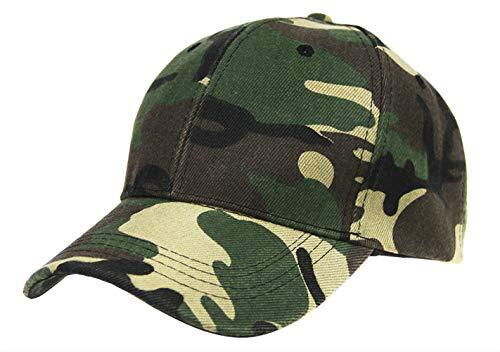 Casquette de baseball camouflage pour homme et adolescent grande visière...
