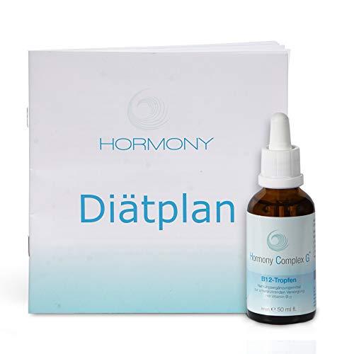 Hormony Complex G® B-12 Tropfen, 50ml | Die hormonfreien B12 Tropfen erhalten Sie zusammen mit einem Diätplan.