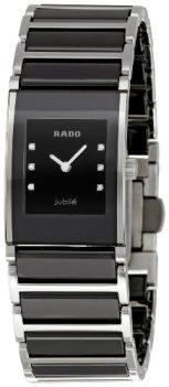 Rado Women's R20786752 Integral Black Ceramic Bracelet Watch