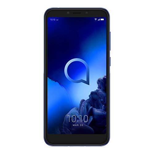 "Alcatel 1S - Smartphone de 5.5"" (Octacore, RAM de 4 GB, memoria interna de 64 GB, ampliable micro SD, cámara trasera 16+2 MP, frontal 8 MP) color azul"