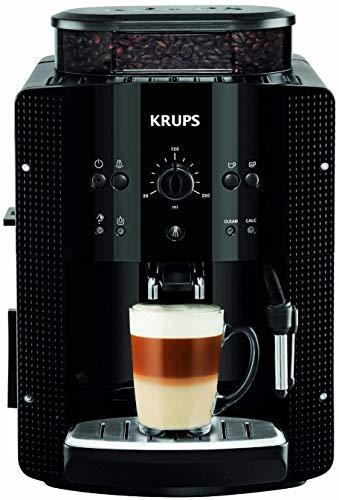 Krups Automatic EA8108 volautomaat koffiemachine | Eenvoudig in het gebruik en onderhoud | Capaciteit van 1,8 liter | Met stoompijpje voor melkopschuimen