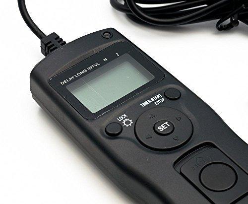QUMOX Tempo Timer Lasso intervallometro Scatto remoto per Nikon D7000 D3100 D5000 D5100 D90