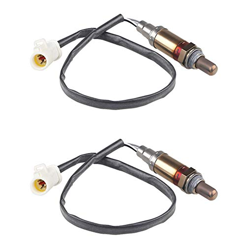 JDMON Compatible with 2Pcs O2 Sensor Oxygen Sensor Ford Mercury Mazda Lincoln F150,E-150,Explorer,Focus,Expedition, Navigator,Town Car,Mountaineer,Sable Replaces 15717,1171843 Set of 2
