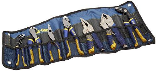IRWIN Tools VISE-GRIP 1802537 - Juego de alicates y alicates de bloqueo (7 piezas, con envoltorio para herramientas)