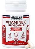 Vitamine C Liposomale | Haute Absorption & Biodisponibilité | Vitamine C Microencapsulé pour des Bienfaits Prolongés |Renforce Vitalité et Immunité| 60 gélules Végétales| Façonné en France MironLab®