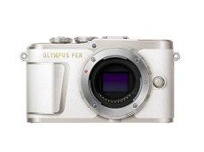 """Olympus PEN E-PL9 - Cámara de sistema compacto de 16 MP (pantalla de 3"""", zoom eléctrico, películas 4k, Wifi) blanco"""